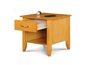 Royal Oak Bedside Table