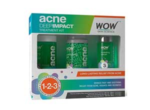 Wow Acne Deep Impact Treatment Kit