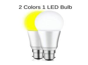 Mansaa DualShine - 2 COLORS IN 1 LED Bulb