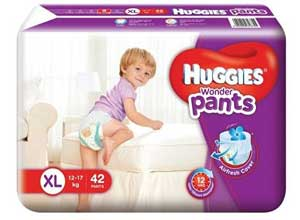 Huggies Wonder Pants Extra Large Size Diapers 42 Count At Rs.454