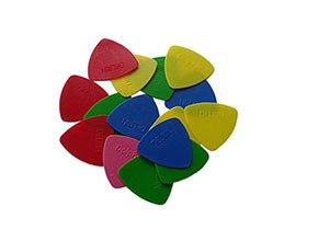 Delrin BGDelrin 40 Picks For Triangular Guitar