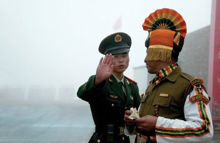 India - China border