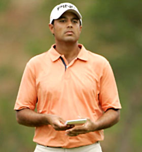 PGA Tour golf pro, Arjun Atwal (source: India Netzone)