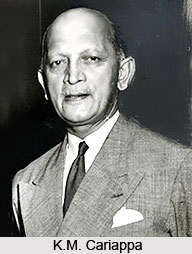 KM Cariappa in Indian Army
