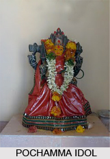 Pochamma Indian Goddess