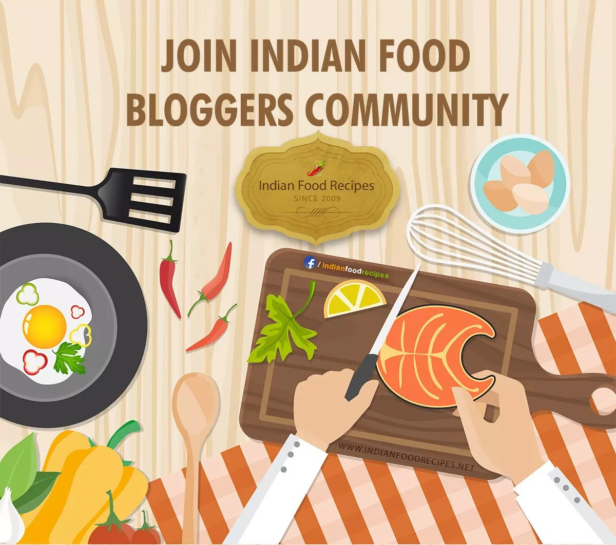 Join Indian Food Bloggers community