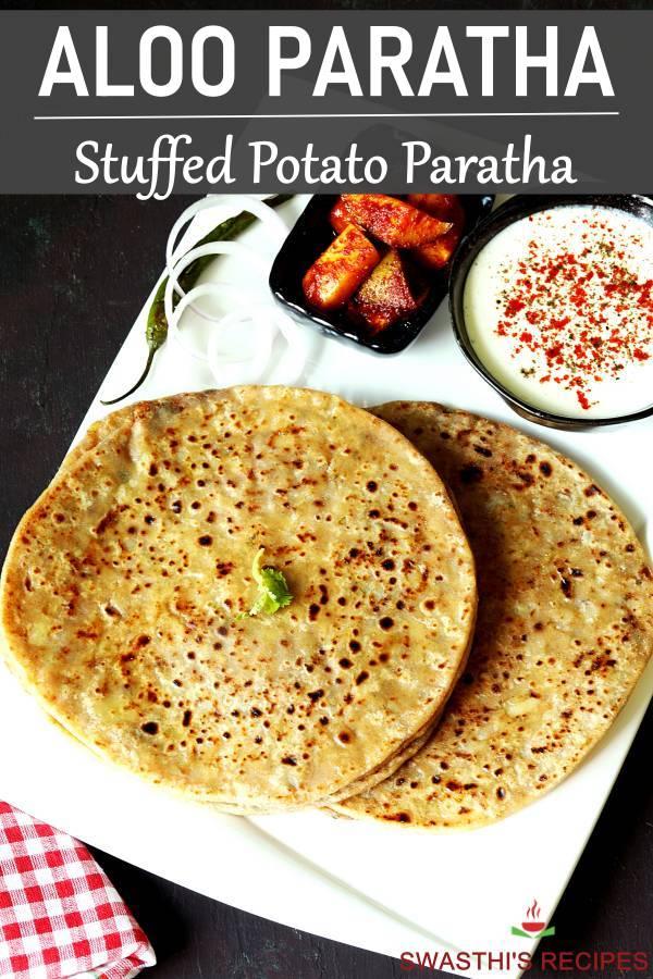 Aloo paratha recipe (Potato stuffed paratha)