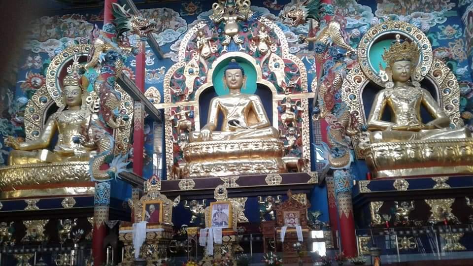 Namdroling Monastery Golden Temple