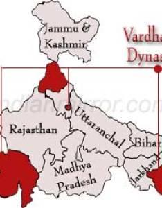 Vardhan dynasty in india harshavardhan rulers of also rh indianmirror