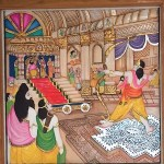 A new Abode for Lord Rama- The Story of the Lord through paintings