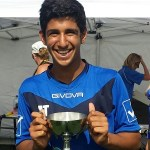 Honours show the way- Arzan Todywalla with Trophy