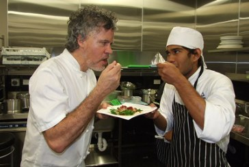 Peter Gordon inspires tomorrow's Chefs