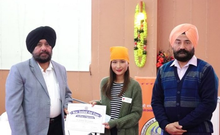 Sikhs extend financial help to Nepalese