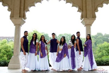 Young dancers promote Bollywood extravaganza