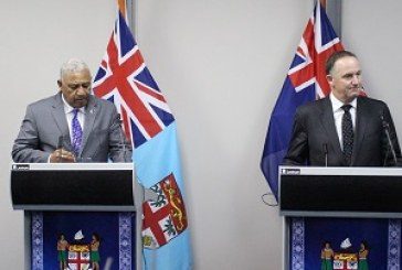 Bainimarama set for state visit to New Zealand