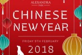 Alexandra Park to mark Chinese New Year