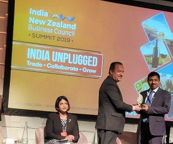 Indian envoy calls for stronger business ties, mutual presence