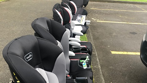 Road safety drive brings free children's seats in cars