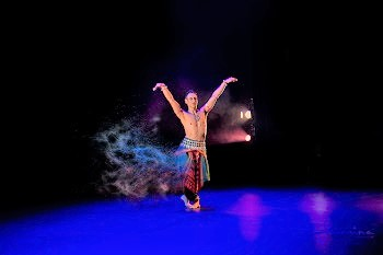 The master of Odissi brings home the power of Kundalini