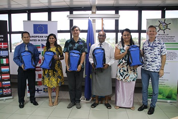 European Union gifts Disaster Preparedness Kits