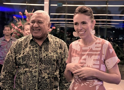 Fiji gets closer to New Zealand after Ardern's visit