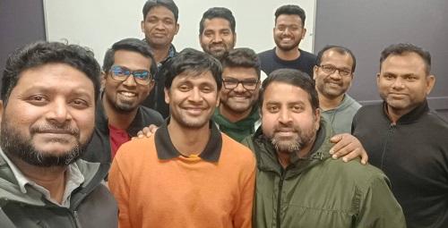 New team at Dunedin Tamil Society