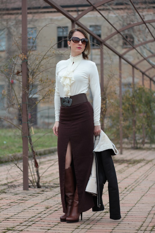 Folk Style On My Fashion Blog Personal Winter Outfit