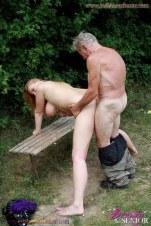 grandfather fucking my pussy and sucking my boobs दादाजी का लौड़ा 15