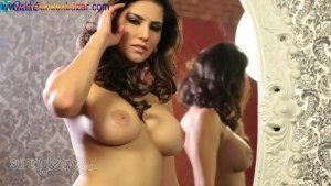Hot Indian mommy Sunny Leone gets totally undressed I suck and fuck her Big tits Boobs Full HD Porn00048