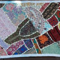 patchwork indien chemin de table