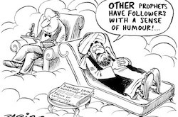 Zapiro, Prophet Muhammad on the couch
