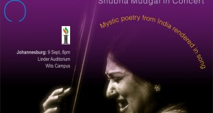 shubha mudgal south africa