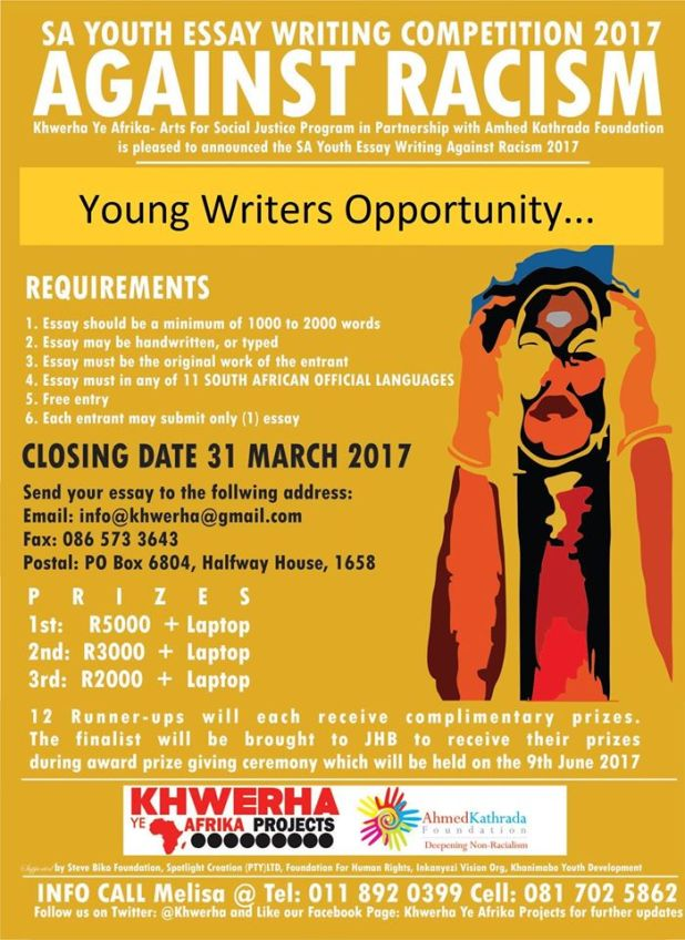 Racism Essay Competition
