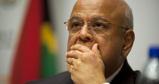Pravin Gordhan Fired
