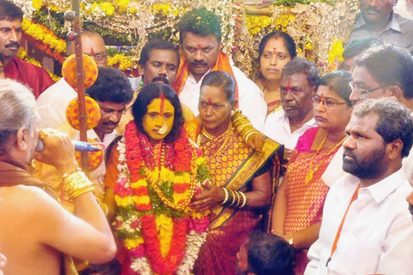 The ancient festival of Bonalu in ode to the blood goddess