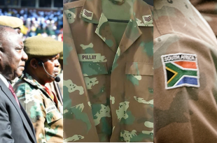 Keith David Pillay SANDF