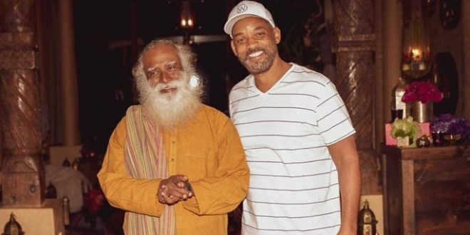 Isha Foundation Sadhgru Will Smith