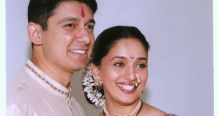 Madhuri Dixit-Nene Bollywood Wedding anniversary