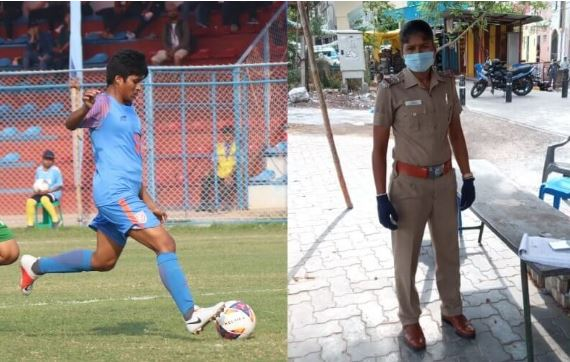 Photo of It's a call to the nation, says midfielder Indumathi about wearing khaki uniforms during the COVID-19 pandemic