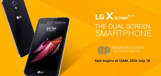 LG X Screen India