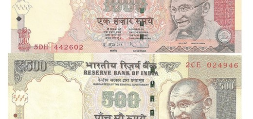 Rs 500 And Rs 1000 Notes