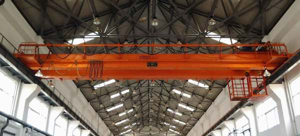Double Girder Crane Cab Operated - Year of Clean Water