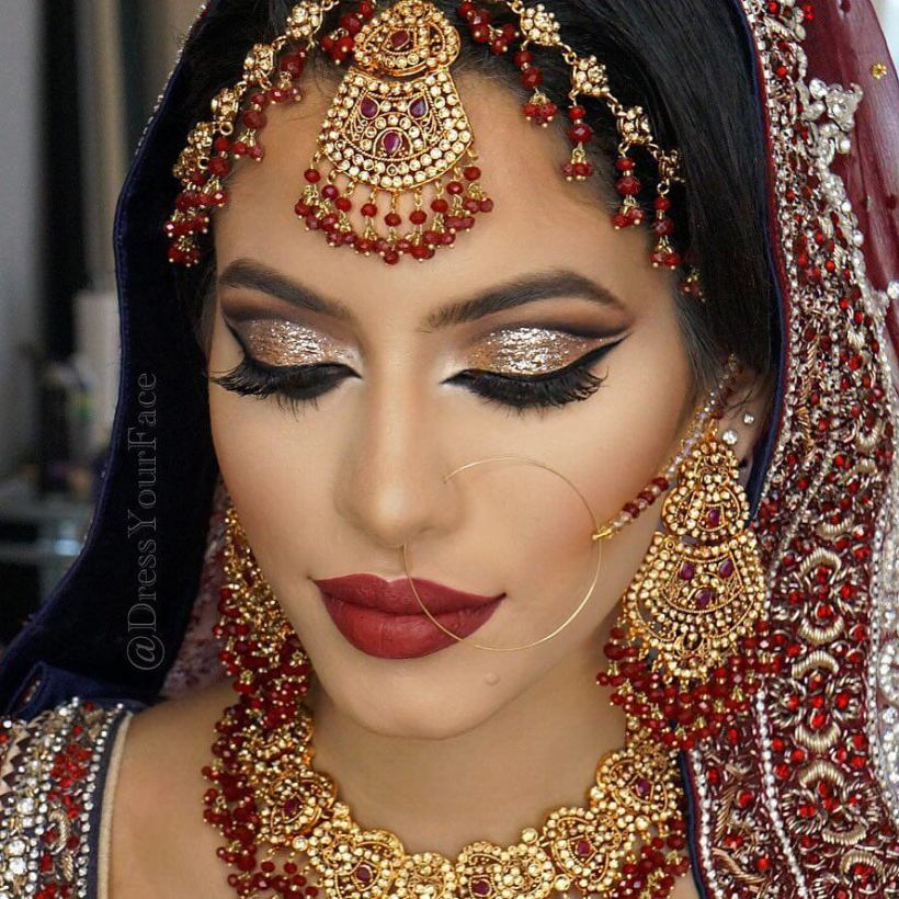 The 7 Makeup Artists Every Bride Should Follow On Instagram. Indian Bridal Makeup