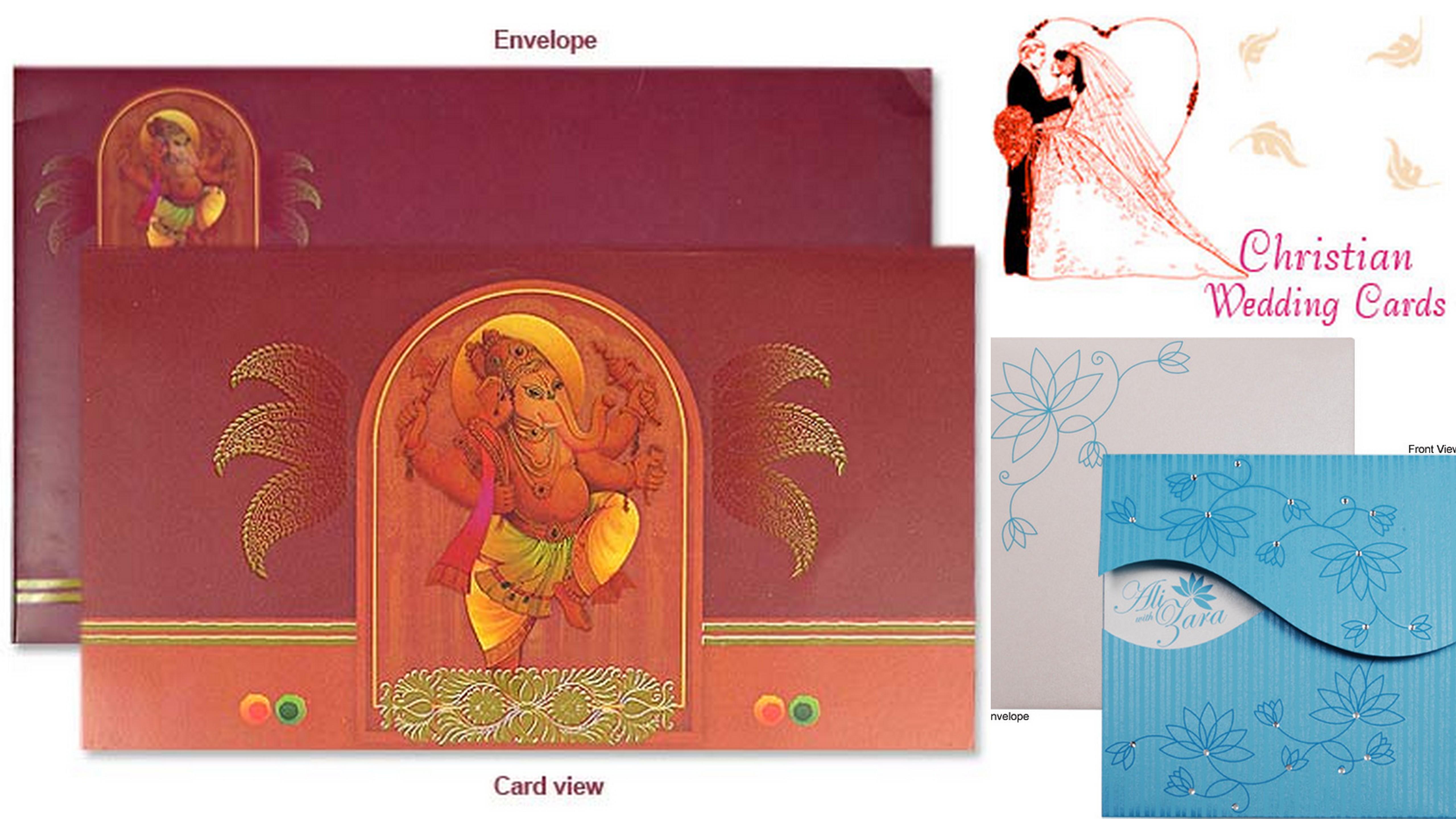 Wedding Invitation Cards Trends in 2014 | IndianWeddingCards
