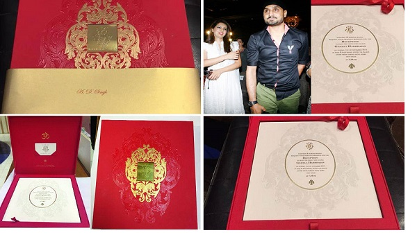 Harbhajan-sigh-wedding-card