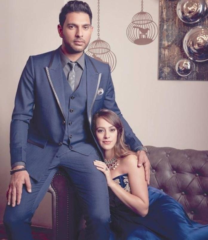Pre-wedding shoot of Yuvraj Singh and Hazel Keech - IndianWeddingCards