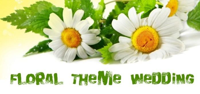 Floral Themed Wedding - IndianWeddingCards
