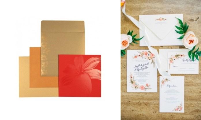 Floral Wedding Cards - IndianWeddingCards