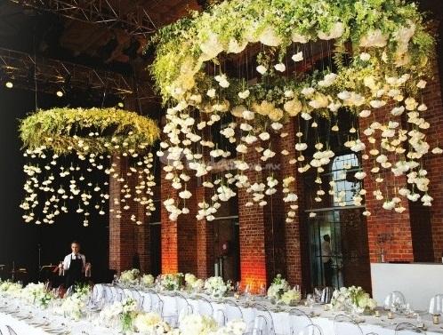 Floral Wedding Chandeliers 3 - IndianWeddingCards