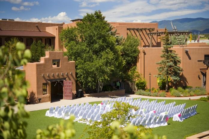 New Mexico architecture style wedding - IndianWeddingCards